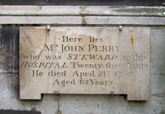 Steward to this Hospital twenty three years