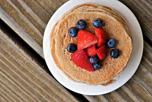 Cinnamon Whole Grain Power Pancakes 2