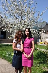 Oksana and Evgeniya