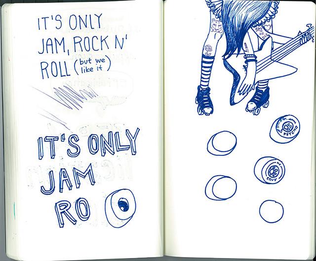 Jam Rock sketch