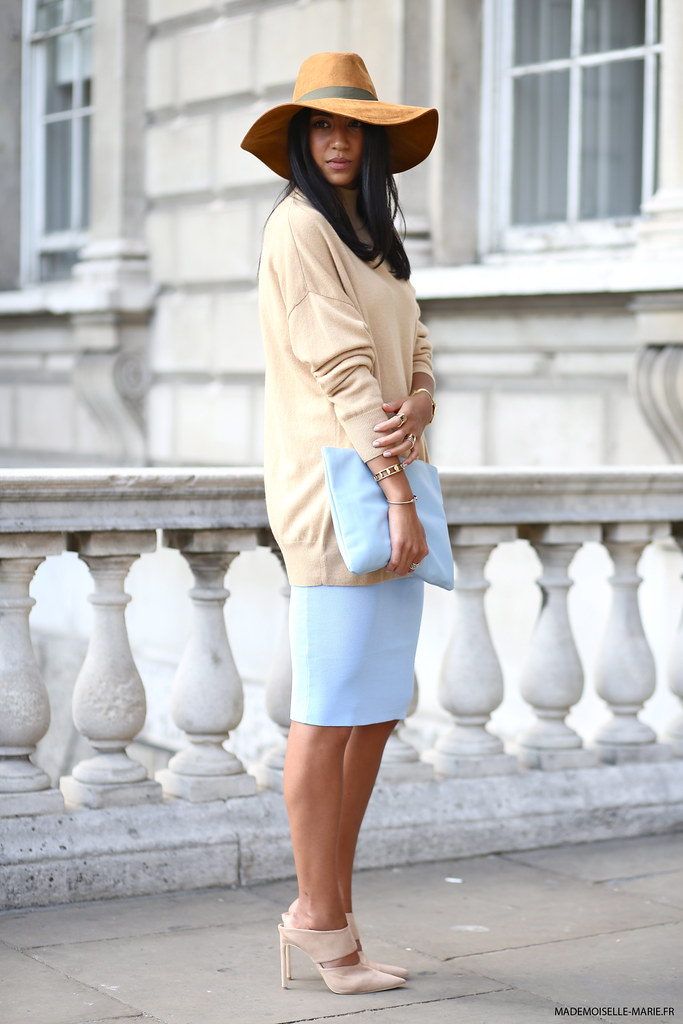 Kayla Seah at London fashion week