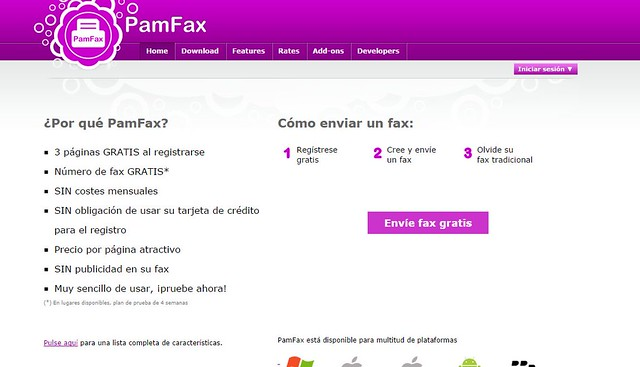 como enviar fax online de manera gratuita