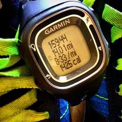 A little 14 mile run to start the day. #marathontraining #marathon #longrun #motivation #meetinggoals #exceedinggoals