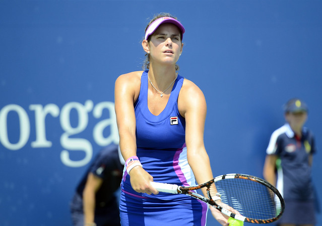 2014 US Open (Tennis) - Tournament - Julia Goerges