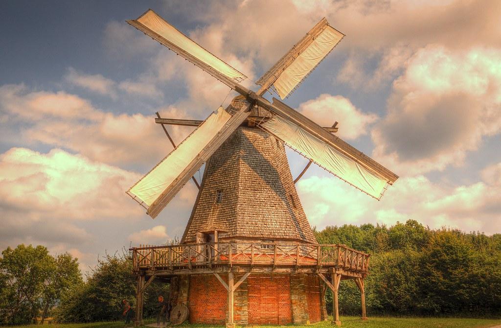 Windmill Detmold-Germany