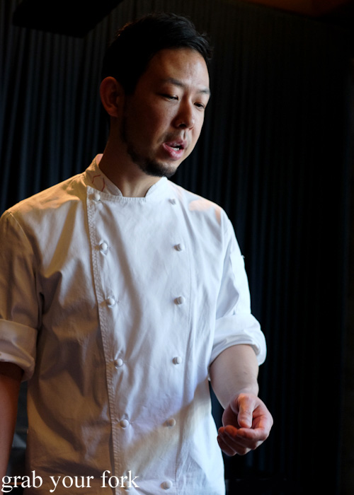 Chef Chase Kojima at Sokyo at The Star, Pyrmont