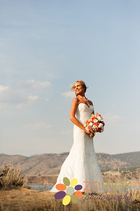 A stunning bride photographed by Zo-mak Photography.