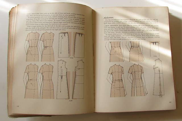 On the Shelf:  Grandma's Vogue Sewing Book