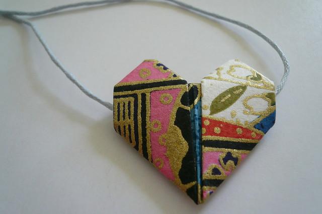 Origami Heart Bracelet