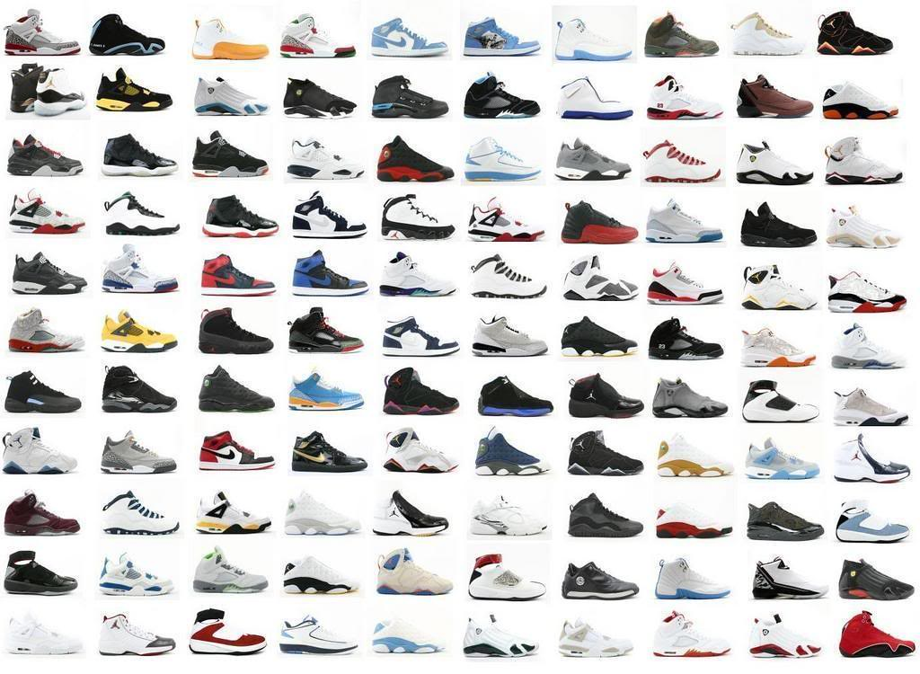 type of jordan shoes