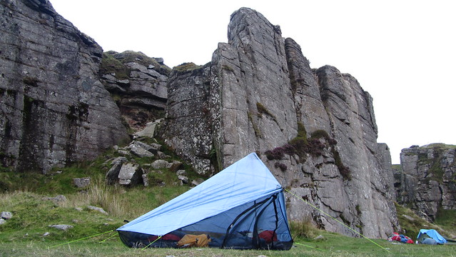 Z Packs Hexamid Solo in Foggintor Quarry