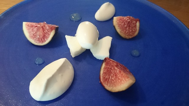 Figs and lemon at Hedone