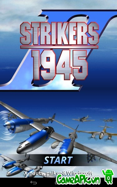 STRIKERS 1945-2 v1.1.7 Hack Free Shopping Cho Android