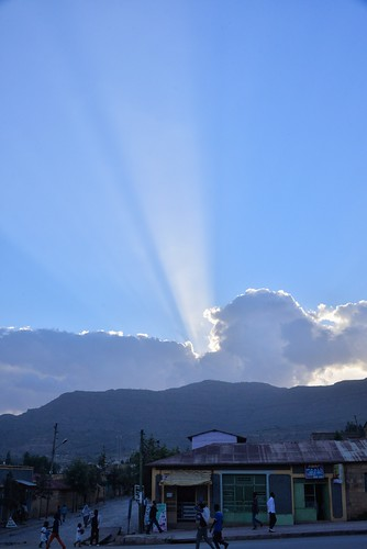 africa sunset cloud sun ethiopia sunray ethiopian tigray adigrat