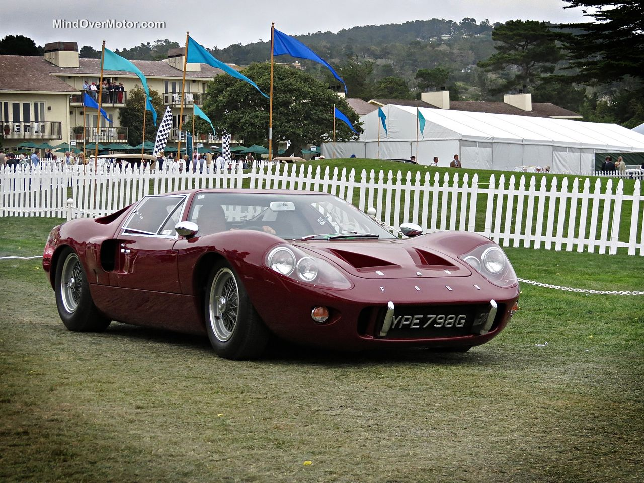 Pebble Beach 2014 Ford GT40 MkIII
