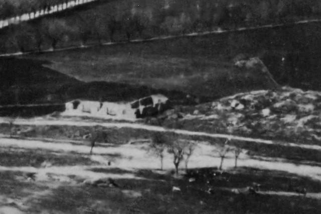 Restos del Convento de San Bartolmé de la Vega a finales del siglo XIX. (c) JCCM, AHPT, fondo Rodríguez, signatura CGD2-024- 1