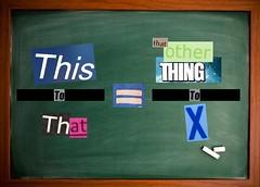 signage(0.0), number(0.0), bulletin board(0.0), brand(0.0), text(1.0), blackboard(1.0), poster(1.0),