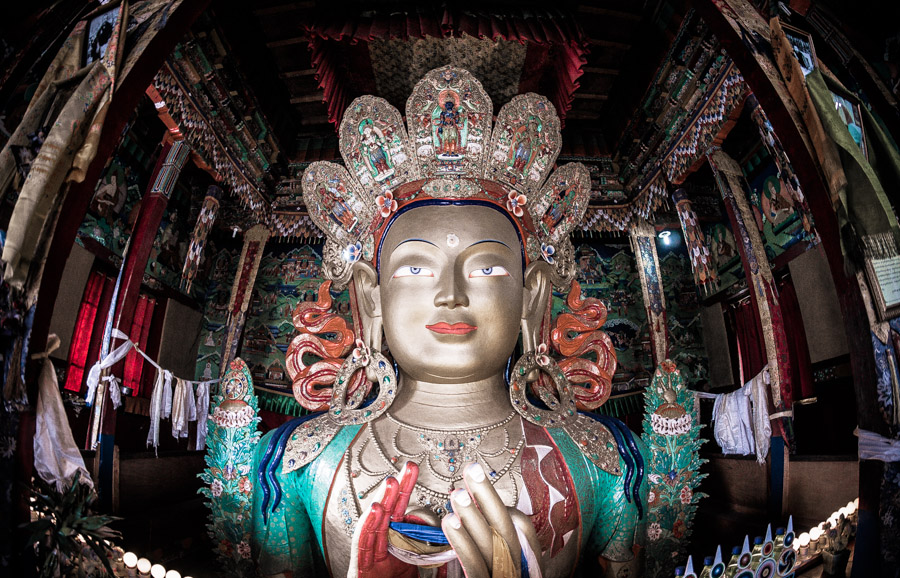 Монастыри Ладакха. Maitreya, Thiksey Gompa