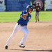 UBC player rounding third (Sept 14, Andrew Snucins)