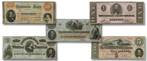 Leggett-Keatinge-Ball confederate notes