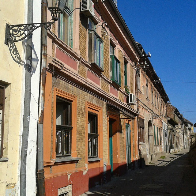 Old charm of Novi Sad