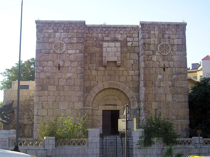 Kisan Gate, one of the ancient gates of Damascus