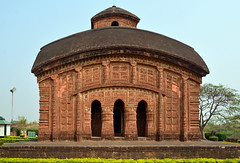 India - West Bengal - Bishnupur - Jorbangla Temple - 77