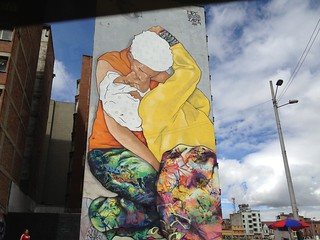 Street Art Bogota, Colombia.
