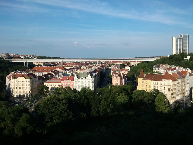 View from Vysehrad (2)