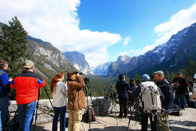 Yosemite Tunnel view (behind the scenes), California, USA