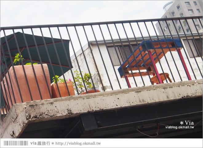 【台中新景點】中興街一巷‧范特喜「綠光計劃」~自來水公司舊眷宿舍的新藝文空間30