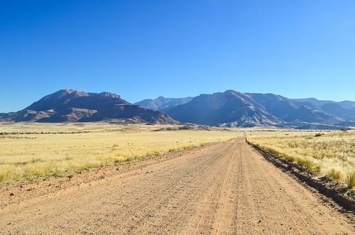 Brandberg, highest mountain range of Namibia