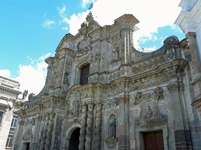 Iglesia de la Compañía de Jesús en Quito (Ecuador)