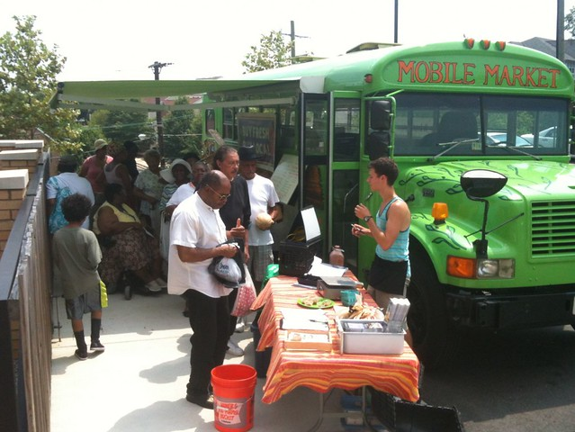 Arcadia's Mobile Market (courtesy of Arcadia Center for Sustainable Food & Agriculture)
