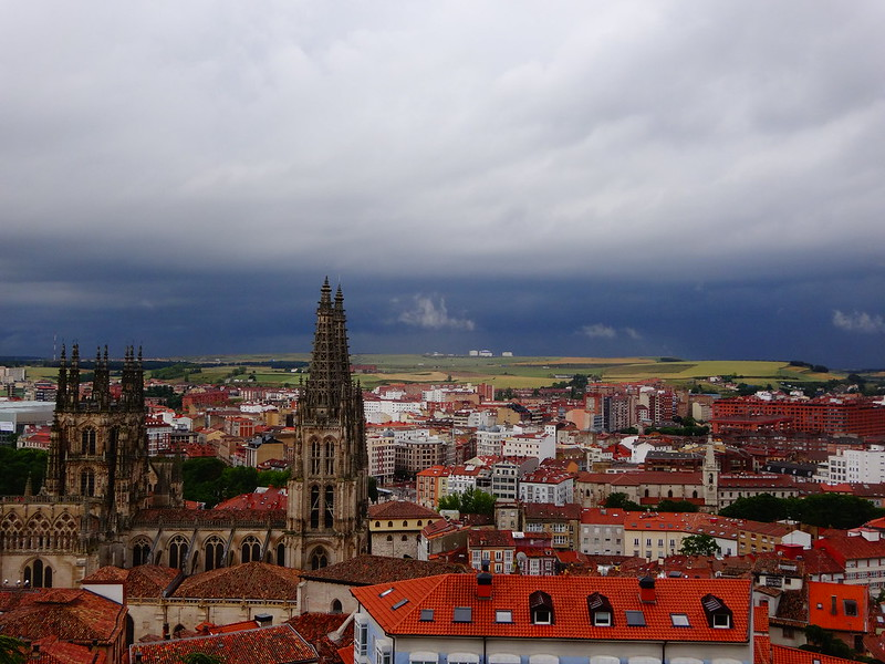 Burgos, looking southwest.