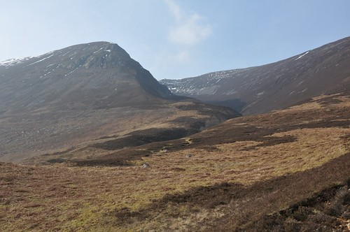 Beinn Iaruinn, the steep way up