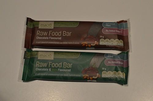 Macro raw bars