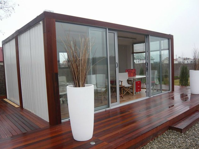 Aprende a construir casas con contenedores reciclados diario ecologia - Building a container home costs ...