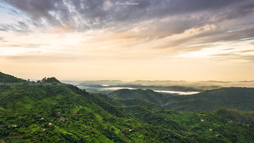 travel light sunset sunlight india mountains green nature yellow clouds landscape intense view ngc farming dramatic hills step greenery drama himachal pradesh nahan flicktravelaward