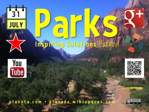 Parks Inspiring Solutions G+ Hangout