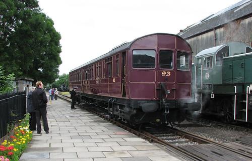 Steam rail car, Didcot Railway Centre