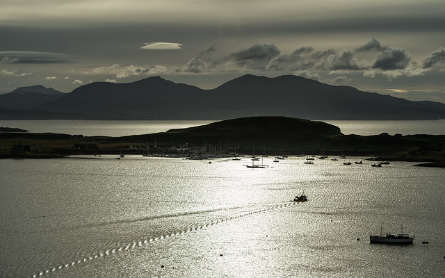 Looking-across-Oban-Harbour-from-Mccaigs-tower