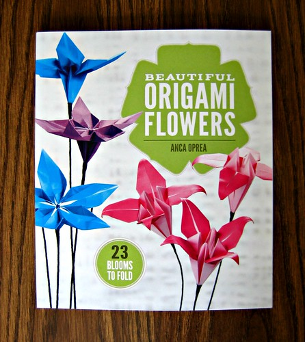 Beautiful Origami Flowers How-to Book