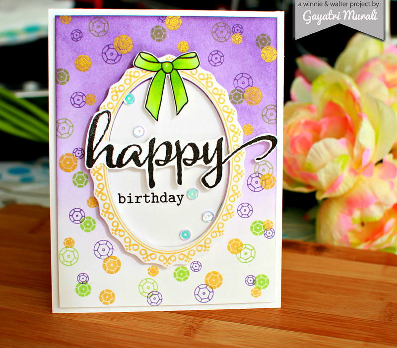 Birthday card for Julie 1