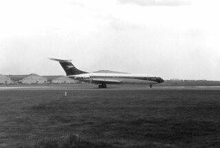 From The Black & White File - B.O.A.C. VC10