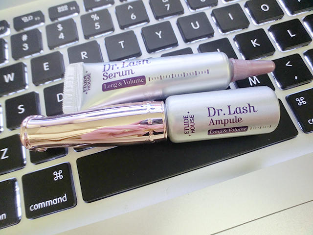 a2e90dfb0a9 Blogger Miyake] Dr Lash Ampule & Proof 10 Gelquid Liner from Etude House
