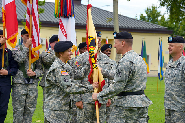 414th Change of Command