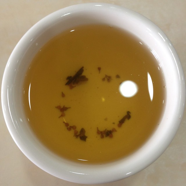 珠兰茶 Chloranthus Tea at Chuan Wei Xuan Sichuan Restaurant