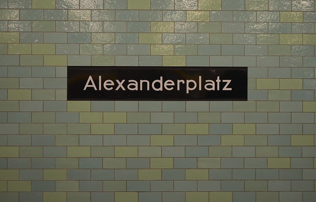 European Instagram meetup #EverchangingBerlin_Alexanderplatz train bahn station