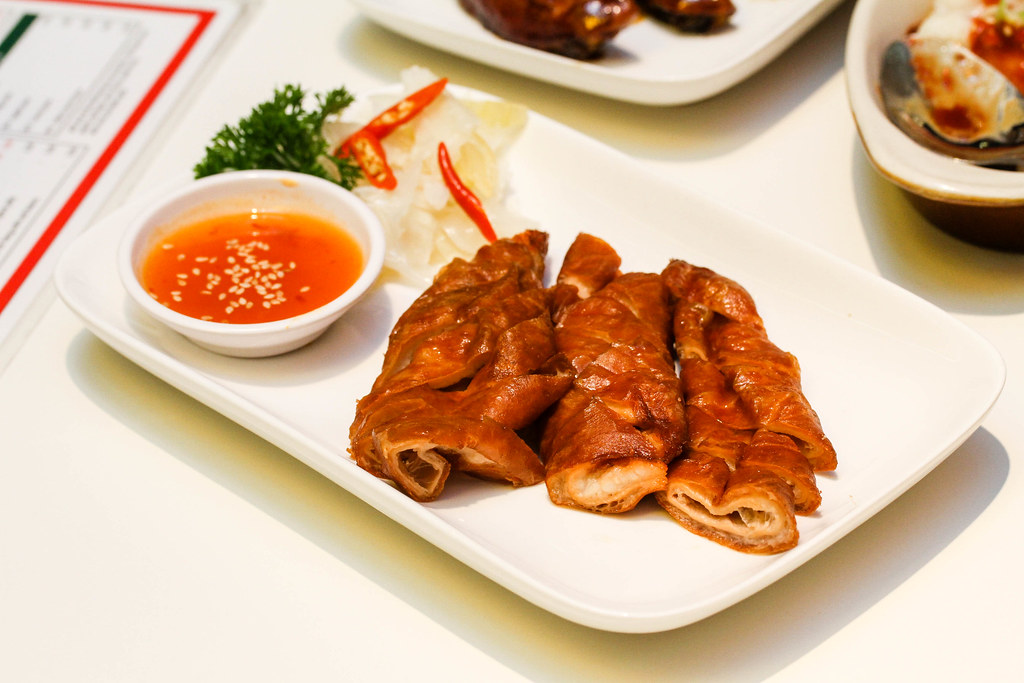 Central Hong Kong Café's Deep fried big intestines